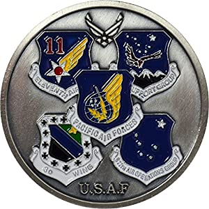 Elmendorf Air Force Base Challenge Coin