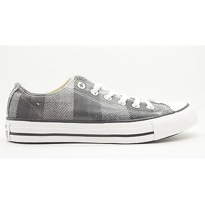 Converse Mens Chuck Taylor All Star OX Plaid Fashion Sneaker Shoe | Fashion Sneakers