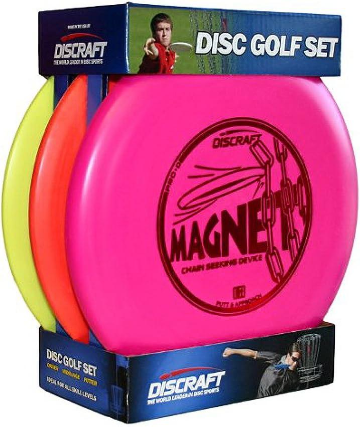 Discraft Starter Pack Beginner Disc Golf Set
