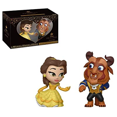 Funko Mini Vinyl Figures: Beauty & The Beast - Belle 2 Pack, Standard, Multicolor: Toys & Games