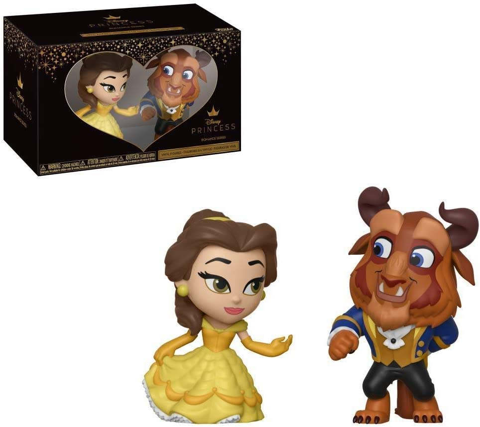Funko Mini Vinyl Figures: Beauty & The Beast - Belle 2 Pack, Standard, Multicolor