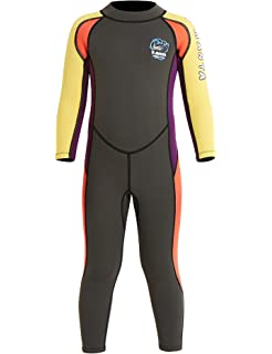 731157369b DIVE & SAIL Kids Wetsuit 2.5mm Neoprene Keep Warm for Diving Swimming  Canoeing UV Protection