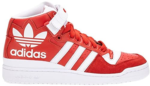 ADIDAS Zapatillas Abotinadas Forum Mid RS XL Rojo/Blanco EU 42 (UK 8)