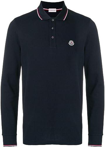 MONCLER 834800084556773 - Polo para Hombre (algodón), Color Azul ...