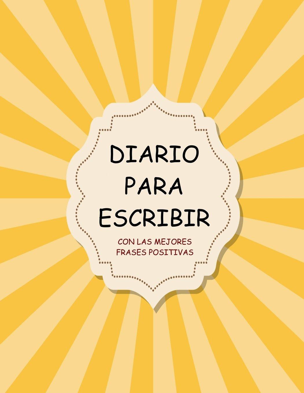 Amazonfr Diario Para Escribir Con Las Mejores Frases