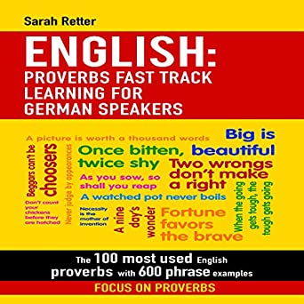 Amazon com: English: Proverbs Fast Track Learning for German