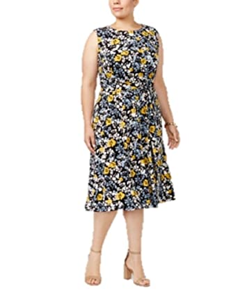 Charter Club Plus Size Printed Dress 1x At Amazon Womens Clothing