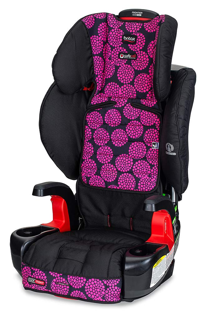 Britax Frontier Clicktight Cool Flow Harness 2 Booster Car