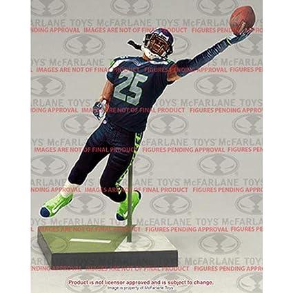 McFarlane Toys NFL Series 36 Richard Sherman Seattle Seahawks Action Figure