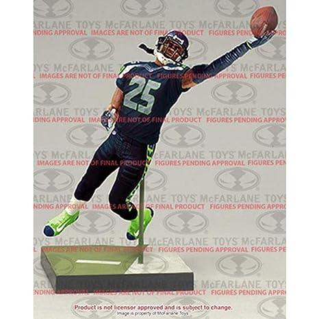 b4f806a0 Amazon.com: McFarlane Toys NFL Series 36 Richard Sherman Seattle Seahawks  Action Figure: Toys & Games