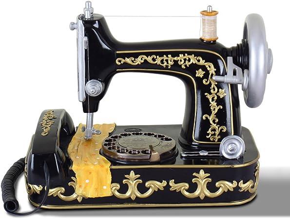 Liu Yu·casa creativa,Teléfono de la máquina de coser casera retro ...