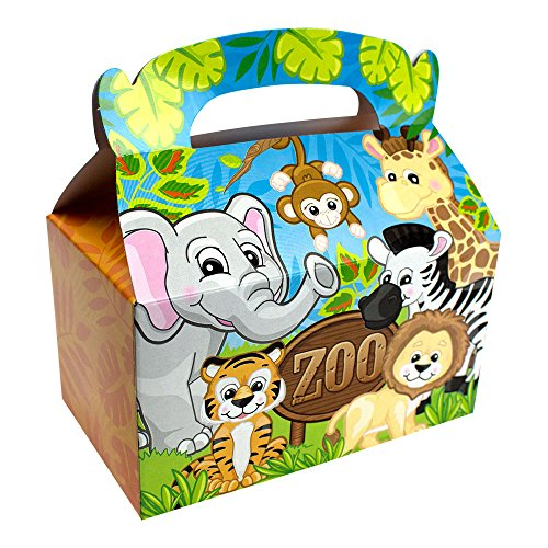 Treat Boxes Bundle by Imprints Plus Includes (12 Pack) Plus Non-Negotiable Million Dollar Bill (Zoo) (Dollar Bill Gift Box)