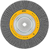 10 inch bench grinder - DEWALT DW4908 10-Inch Crimped Bench Wire Wheel, 3/4-Inch Arbor, Wide Face .014-Inch Wire