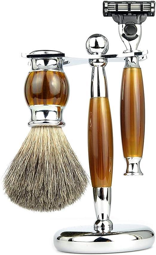 HHORD Set De Afeitado, 3 En 1 Set De Afeitadora De Afeitar para ...