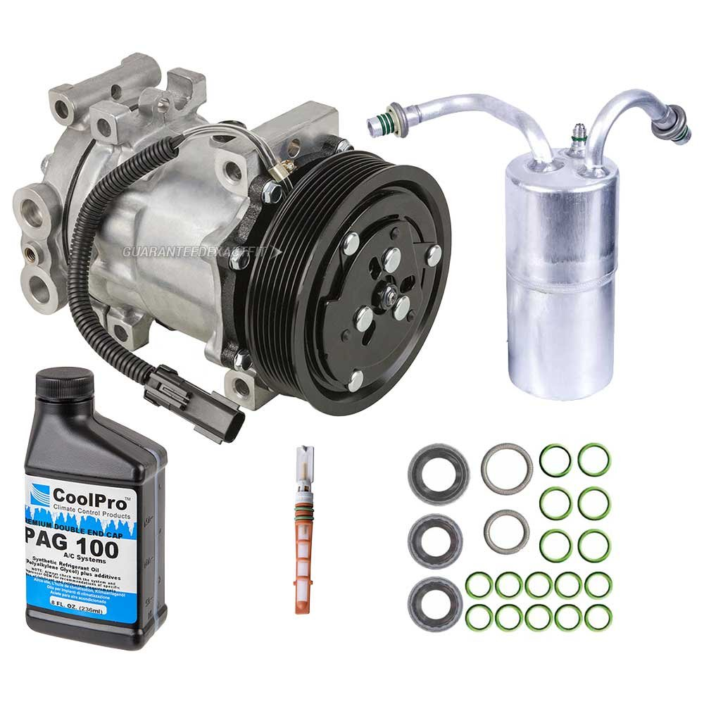 New Ac Compressor Clutch With Complete A C Repair Kit 2012 Dodge Ram Oil Pump For Trucks Gas Buyautoparts 60 80118rk Automotive