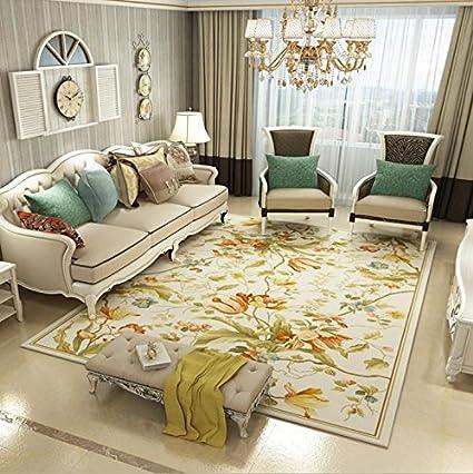 KOOCO American Style tappeti floreali per soggiorno romantico ...