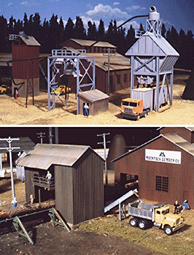 Scale Ho Timber (Walthers Cornerstone Series Kit HO Scale Sawmill Outbuildings)