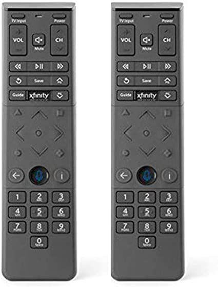 Amazon Com 2 Pack Xfinity Comcast Xr15 Voice Control Remote For X1 Xi6 Xi5 Xg2 Backlight Home Audio Theater