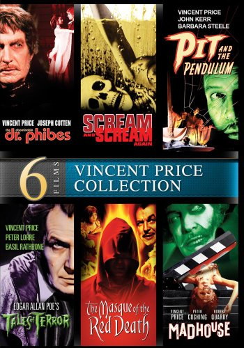 Vincent Price: 6 Movie Collector's Edition - Digitally -