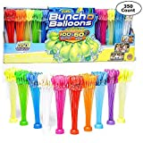 Bunch O Balloons Zuru, Fill and Tie Water Balloons, Multi Color - 350 Count