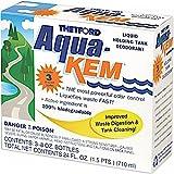 Thetford 8 Ounces Aqua-KEM Original-Holding Tank Treatment-Deodorizer-Waste Digester-Cleaner-3x8oz Pack 15483