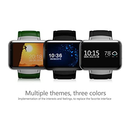 HSW Smart Fitness Watch DM98 3G Bluetooth Android 4.4 iOS WiFi GPS Health Wrist Bracelet Heart Rate Sleep Monitor Smart Wearable Devices