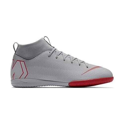 d1ab86986 Nike Unisex-Kinder Jr Superfly 6 Academy Gs Ic Futsalschuhe Mehrfarbig  (Wolf Grey
