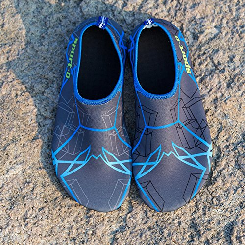 Skin Surf Gray Water Swim Socks Shoes Aqua Yoga 2 Beach Barefoot For SAGUARO zxnUawq
