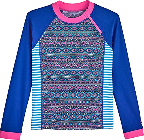 Coolibar UPF 50 Girls Zippy Rash Guard Sun Protective