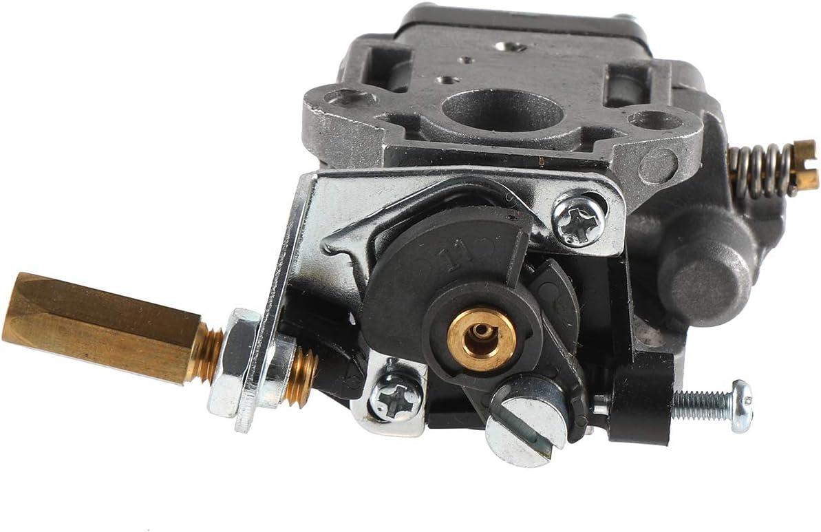 Carburetor Carb Insulator Spacer W//Gasket For Husqvarna 143RII Brushcutter