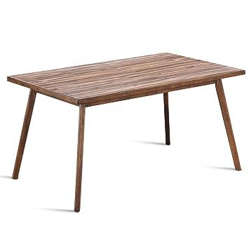Amazon.com: Giantex - Juego de mesa de comedor y sillas de ...