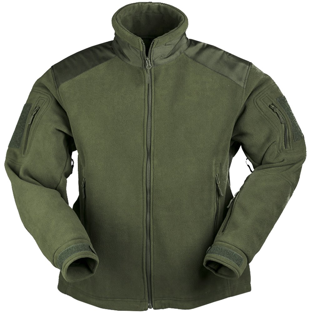Mil-Tec Delta Jacket Fleece Oliv