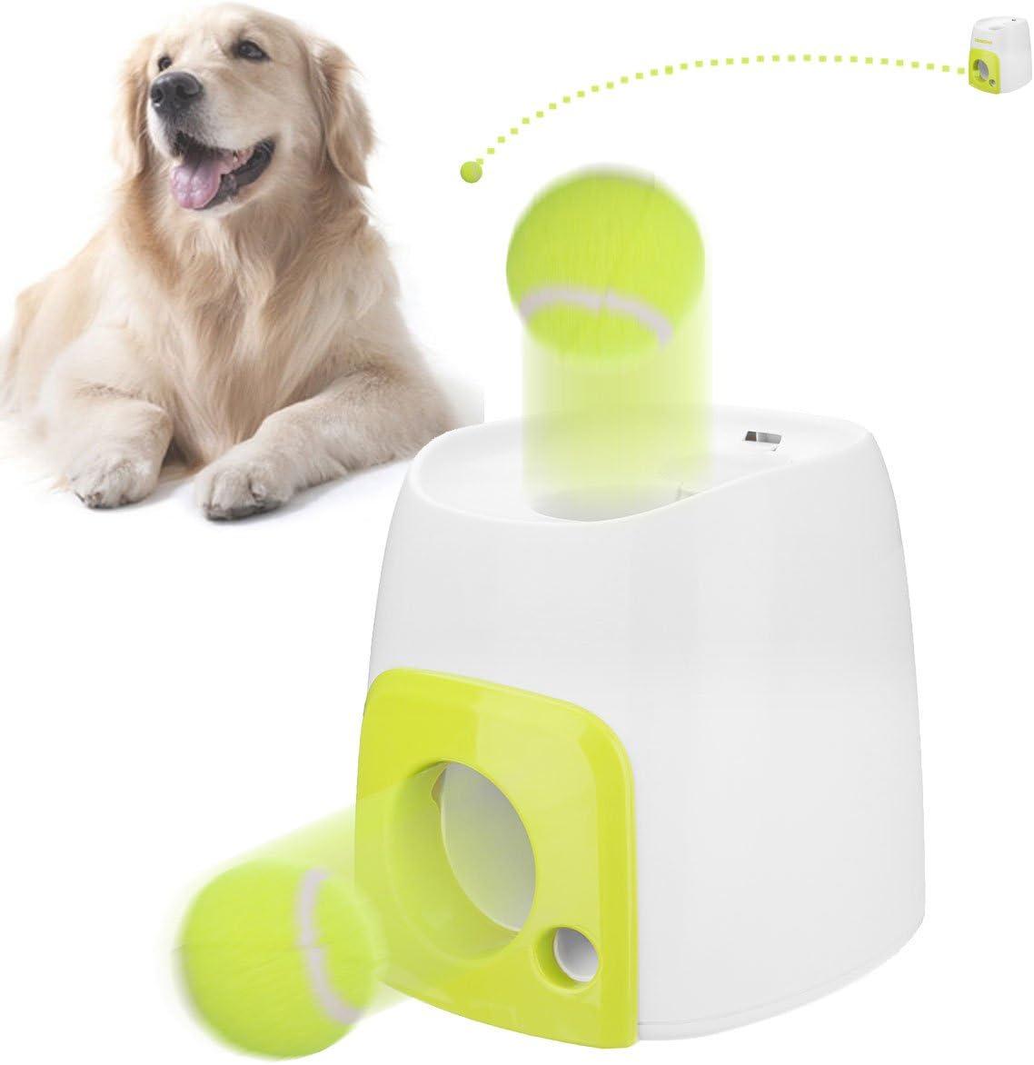 Bureze - Lanzador de Pelotas de Tenis para Perro, Juguetes de ...