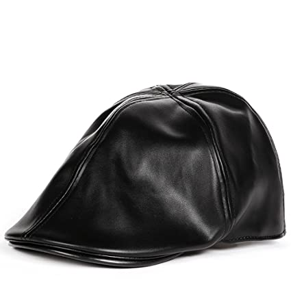 1c1a39f7511 Smdoxi Dad Berets Hat Unisex Vintage Hip-Hop Cap Beach Sun Peaked Cap  Classic Leather