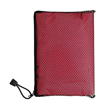Totes Unisex Rain Poncho, Red, One Size 3