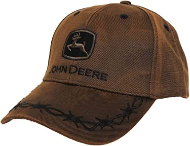 John Deere Toddler Kids Oilskin Cap-Brown-Os: Amazon.es: Ropa y ...
