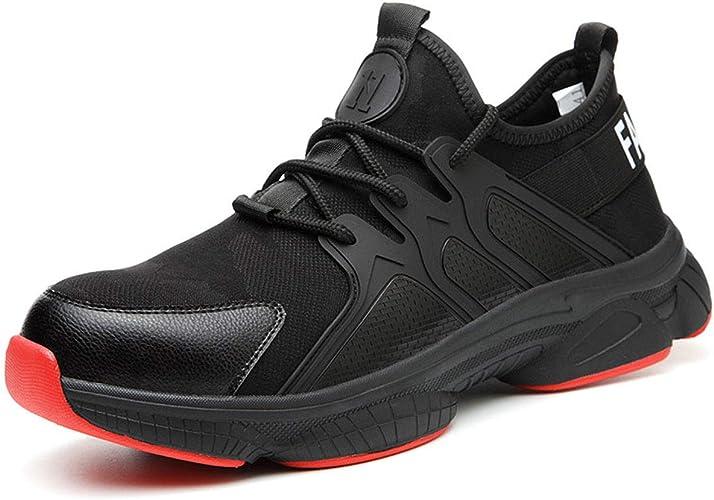 CHNHIRA Chaussure de securit/é Femmes securite Basket Homme Protection Respirant Travail