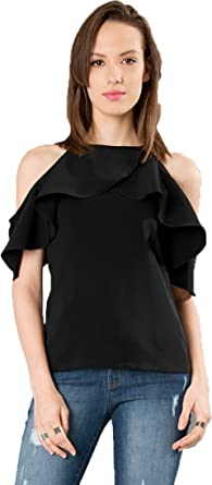 d72ae795cac656 J B Fashion Women Tunic Short Top For Jeans Plain Diamond Creap Top ...