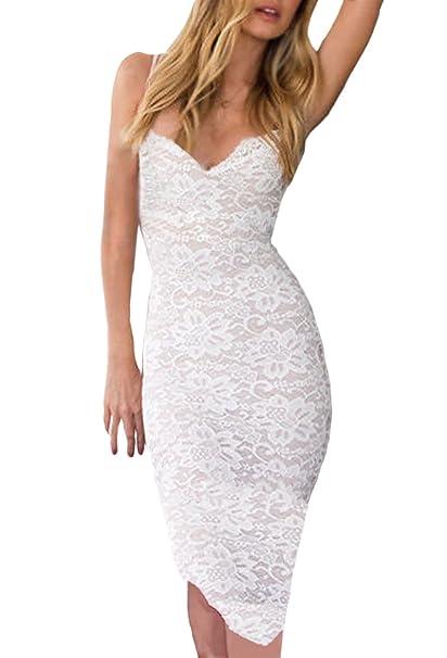 Minetom Donna Vestito Elegante Dress Donna Estate Cocktail Senza Maniche  Party Ball Gown Abiti Corti Da Ballo Per Feste Bodycon Mini Dress   Amazon.it  ... 0aab51fd139