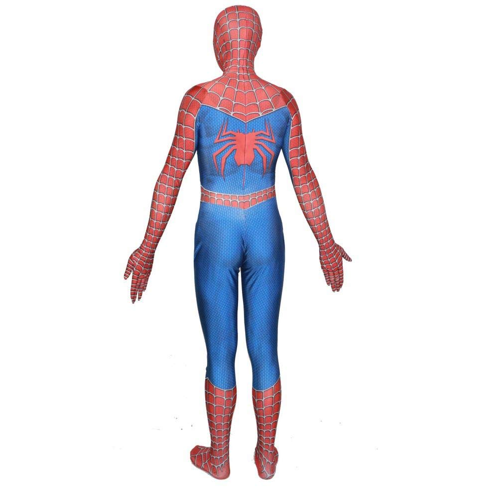 Raimi Spiderman Spiderman Raimi Kostuum Kostüm 3D Print Ganzkörper Halloween Cosplay Anzug Einlegeslinse Maske Für Erwachsene Kinder Halloween Kostüm 28e7eb