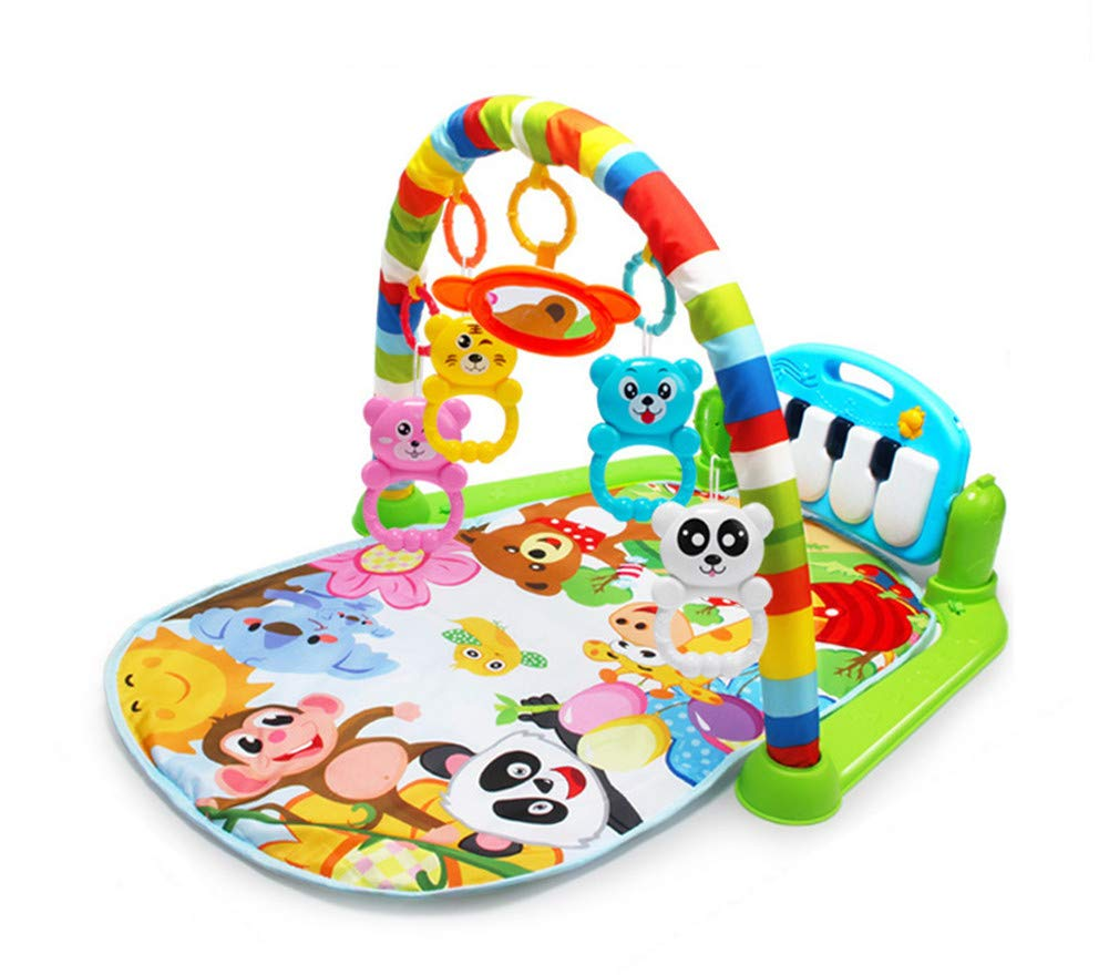 Baby Piano Play Gym Playmat With Music And Lights Activity Rug Suitable Newborns lvbe