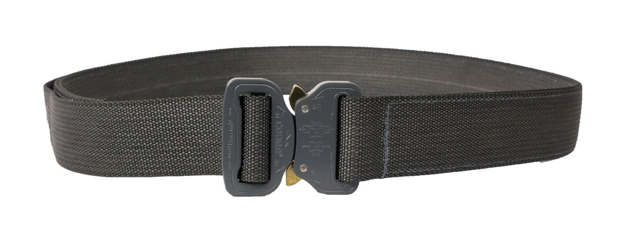 Elite Survival Systems ELSCSB-WG-XL Co Shooters with Cobra Buckle Belt, Wolf Gray, X-Large by Elite Survival Systems