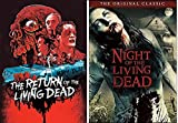 The Living Dead Classic Edition DVD + The Return of the Living Dead Zombie Horror Movie Set