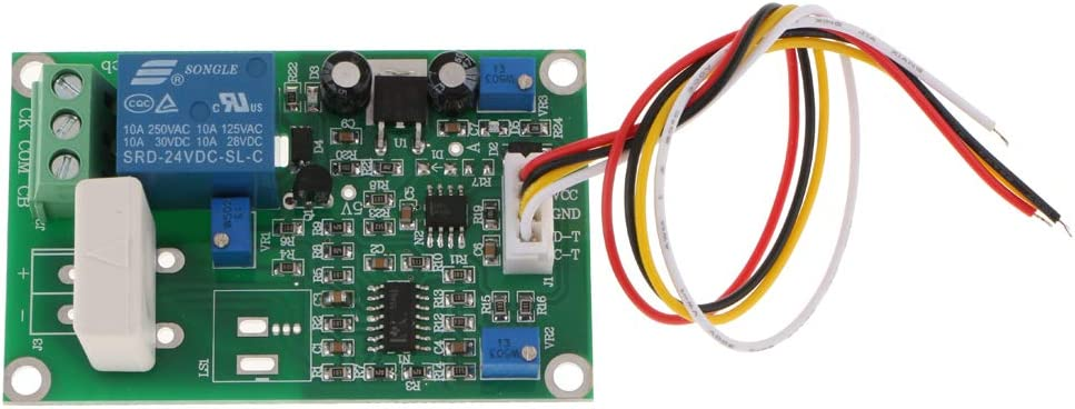 Shiwaki DC0-70A WCS1700 Module Measuring Range Current Sensor Hall Board For 12V with Base