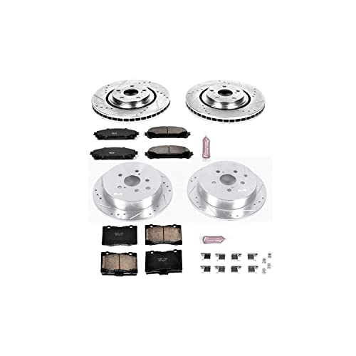 Power Stop Z23 Evolution Front And Rear Brake Kit
