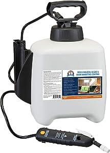 One Shot BGMI-1F96 Mold, Mildew, Algae, and Fungus Prevention with Pump Sprayer, 96 oz (3 Quarts)
