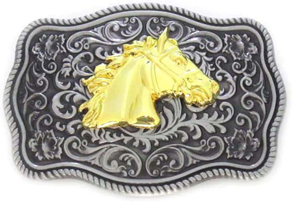 NATIVE AMERICA INDIAN RODEO WESTERN COWBOY BELT BUCKLE