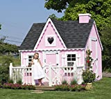 Little Cottage Company Victorian DIY Playhouse Kit, 8' x 8'