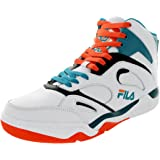 Fila Men's KJ7, White/Red Orange/Biscay Bay