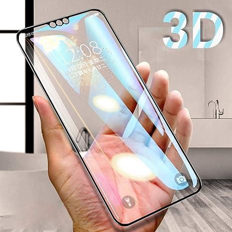 wojiaxiaopu [3 Piezas] 3D gehärtetes Glas auf Honor 8X für Huawei ...